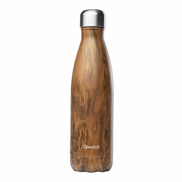 Gourde 500ml flower, wood